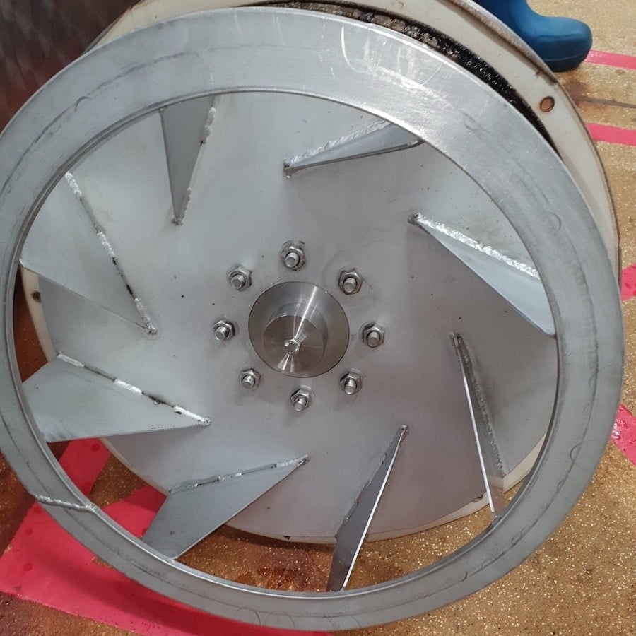 Fan After Cleaning